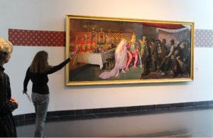 Ferniserinf af LLZ TAPETs Willumsen Alhambra tapet