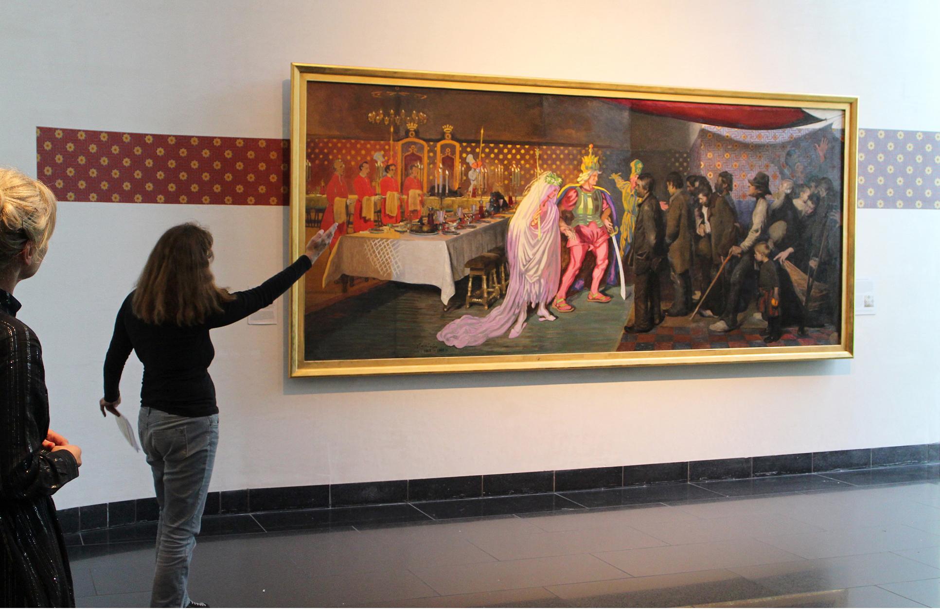 Fernisering på J. F. Willumsens Museum