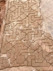 Gulvmønster fra Alhambra paladset
